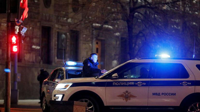 В центре Москвы в районе Большой Лубянки перекрылидвижение