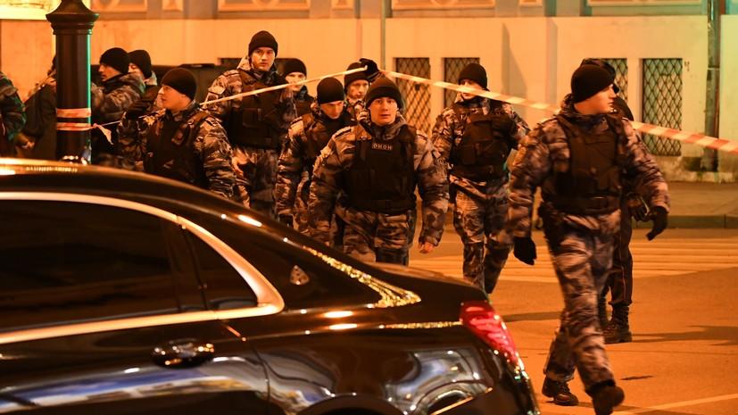 Источник сообщил о стрельбе в центре Москвы