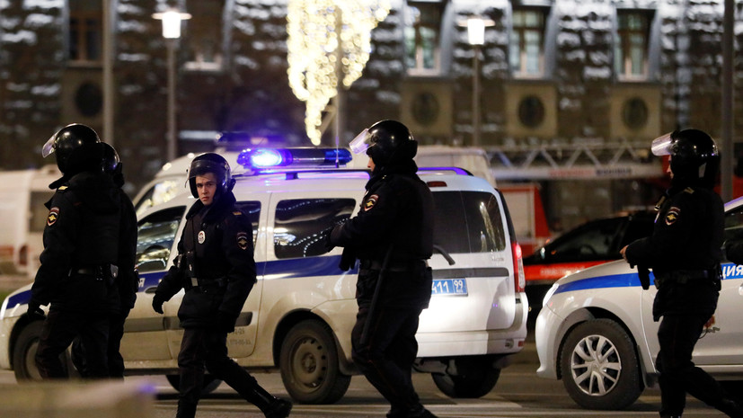 В Минздраве сообщили о пяти пострадавших при стрельбе на Лубянке