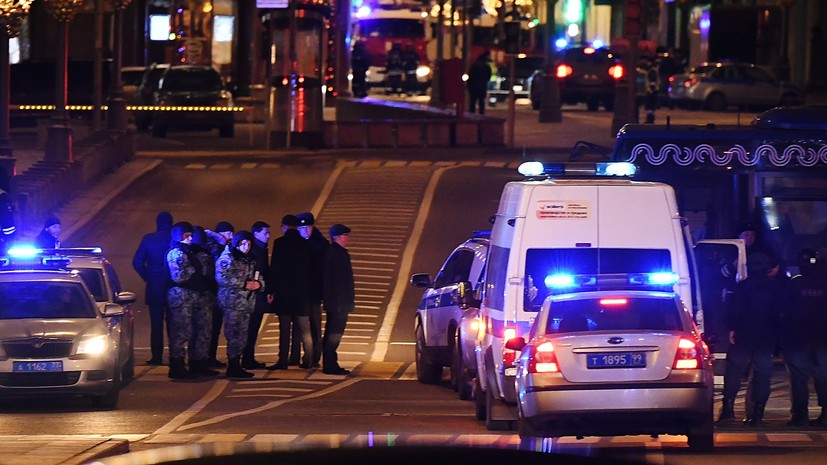 «Слышались автоматные очереди»: что известно о стрельбе у здания ФСБ на Лубянке