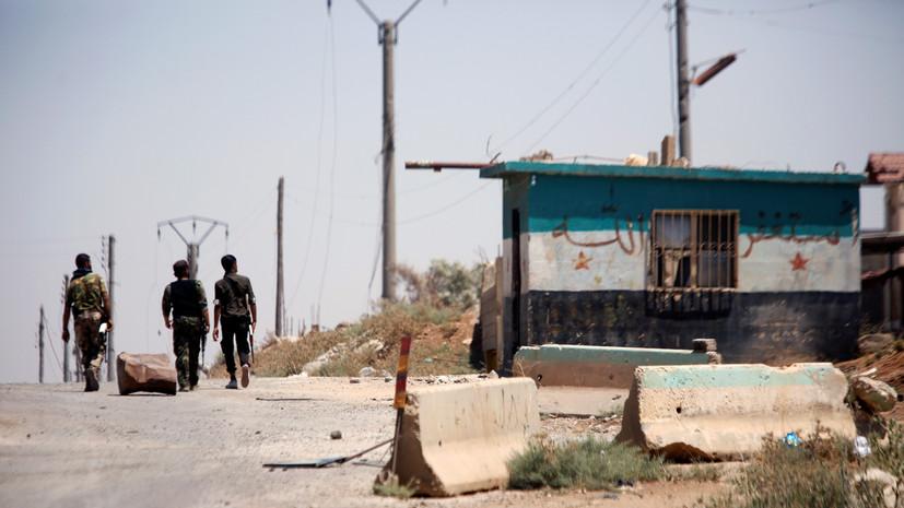 В результате атаки БПЛА боевиков ранены двое сирийских военных
