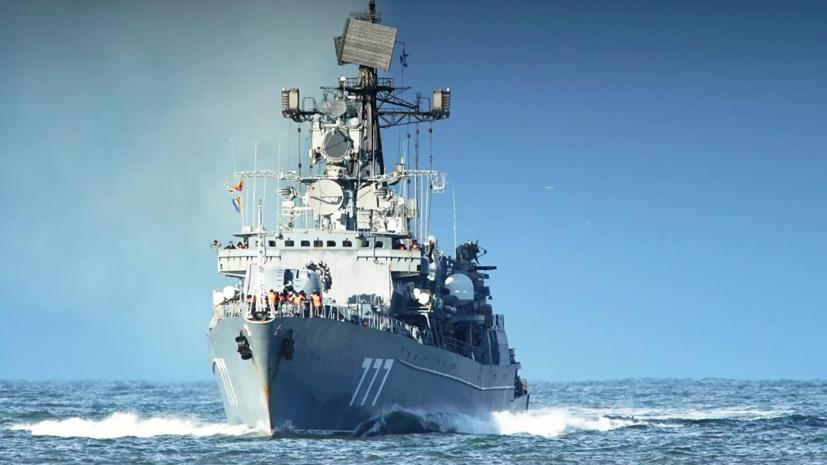Отряд российских военных кораблей отправился в иранский порт Чахбехар