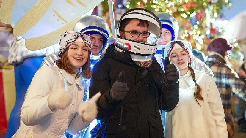 Центральные улицы Москвы оформят в космическом стиле