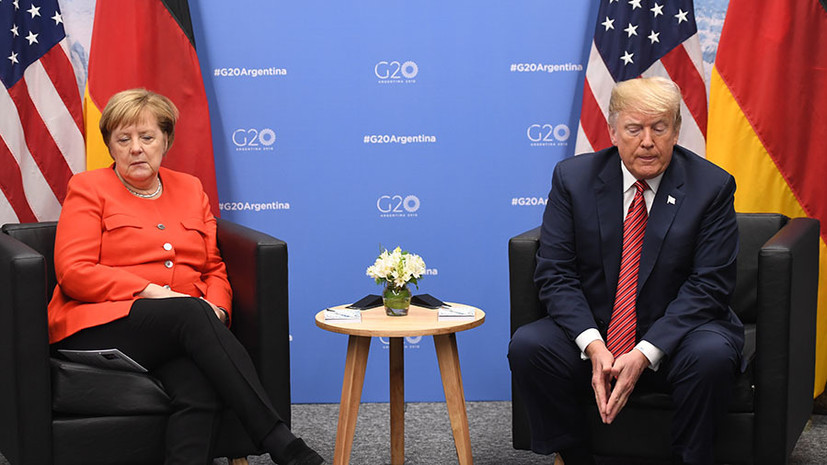 «Антиамериканские настроения будут расти»: как угроза санкций из-за «Северного потока — 2» влияет на отношения ФРГ и США