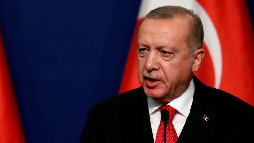 Эрдоган пообещал зеркальный ответ на санкции против «Турецкого потока»