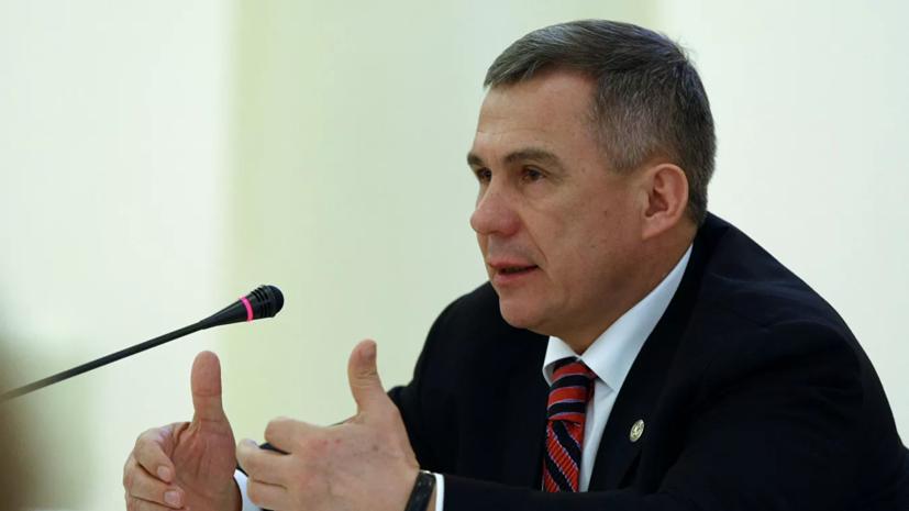 Президент Татарстана вручил благодарность 100-летнему ветерану МЧС