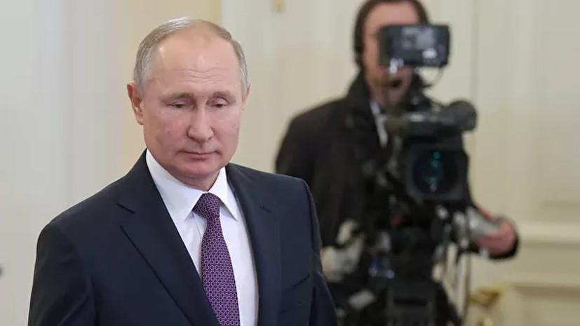 ВЦИОМ зафиксировал рост одобрения деятельности Путина