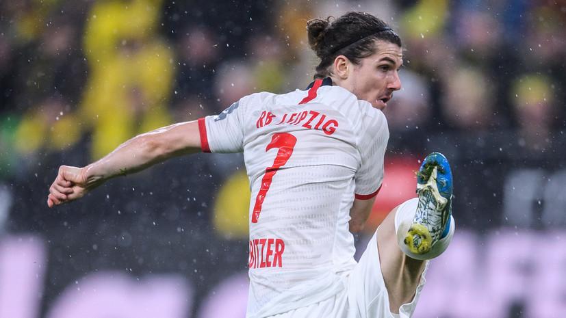 Мяч футболиста «Лейпцига» в ворота «Зенита» признан лучшим на групповом этапе ЛЧ