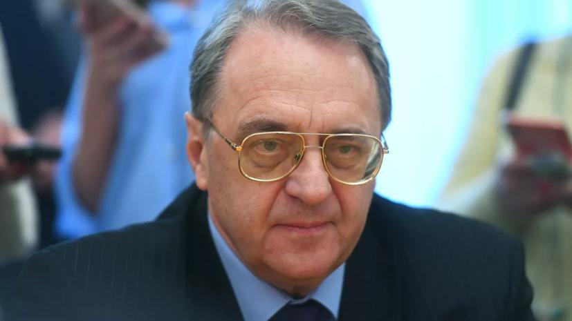 Богданов провёл встречу с послом Сирии