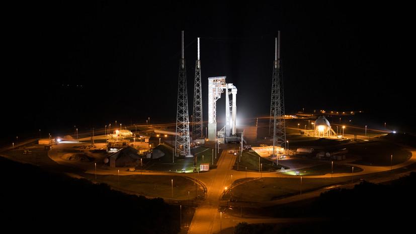 NASA отменило стыковку корабля Starliner с МКС после сбоя при полёте
