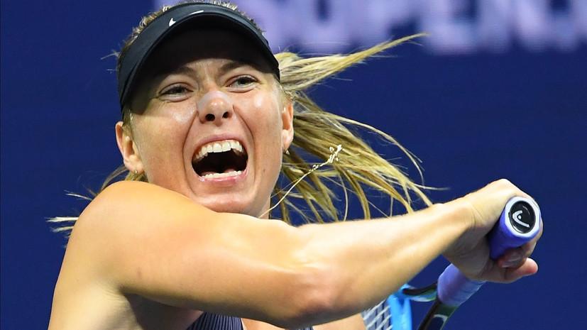 Шарапова рассказала, чему может научиться у испанского теннисиста Надаля