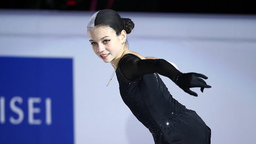 В сети появилось видео танца Трусовой, Косторной и Щербаковой в зале