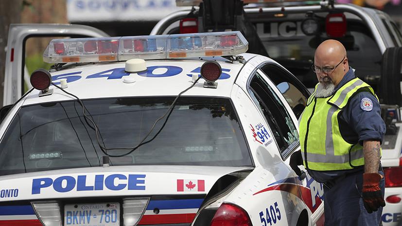 В Торонто три человека пострадали при стрельбе