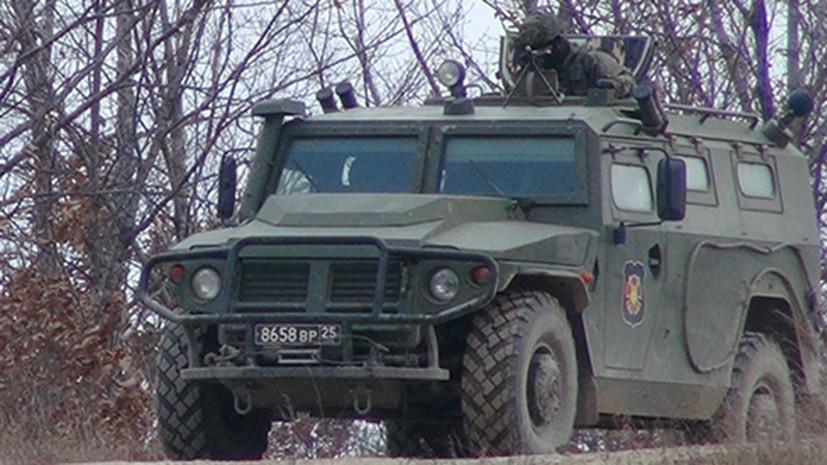 В России завершились госиспытания броневика «Тигр» с ЗРК «Гибка-С»