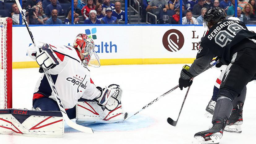 Самсонов стал вторым вратарём в истории НХЛ, выигравшим семь первых выездных матчей
