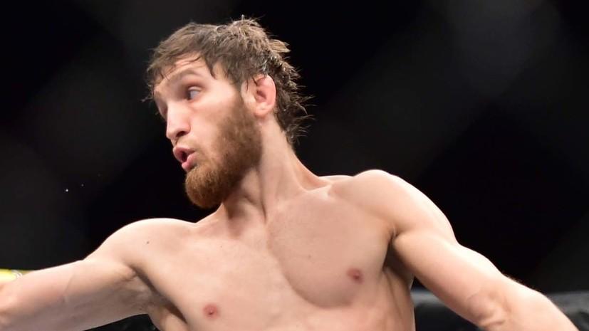 Саид Нурмагомедов потерпел первое поражение в UFC