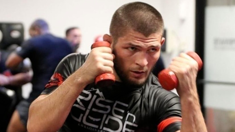 Нурмагомедов начнёт подготовку к бою с Фергюсоном в Дагестане