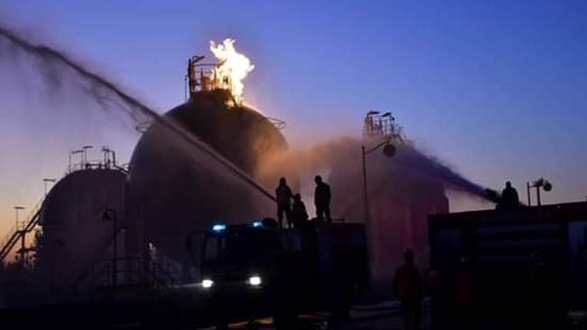 В Сирии заявили о терактах на трёх энергообъектах
