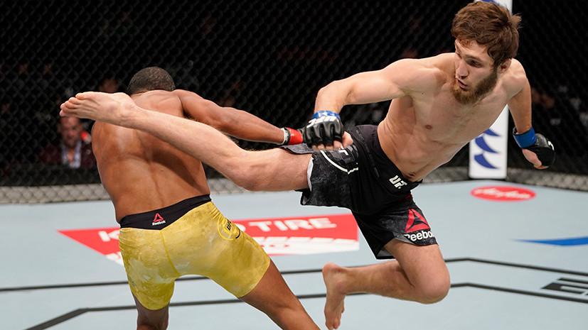 Первое поражение Нурмагомедова, избиение Эдгара и яркие нокауты Журдена и Пантожи: чем завершился турнир UFC в Пусане