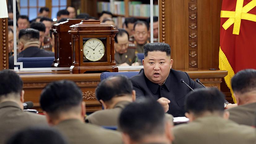 Ким Чен Ын рассказал военным о «сложной внутренней и внешней ситуации»