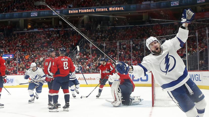 Кучеров достиг отметки в 200 шайб за карьеру в НХЛ