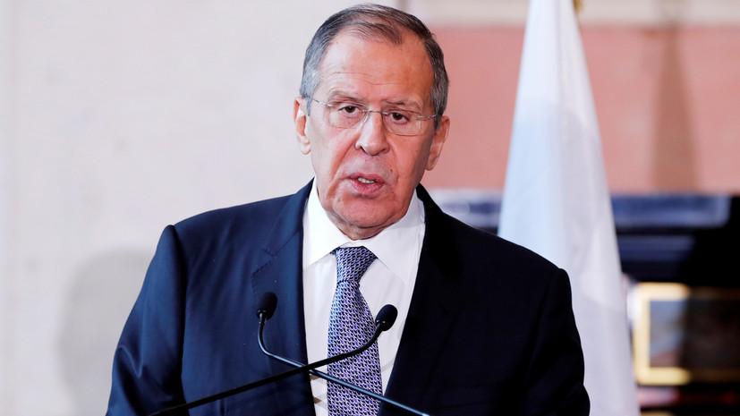 Лавров: Россия не будет ухудшать отношения с Китаем в угоду США