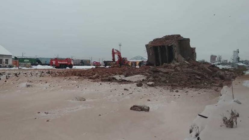 СК проводит проверку по факту обрушения здания в Омске