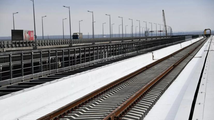 Путин поучаствует в открытии железнодорожной части Крымского моста