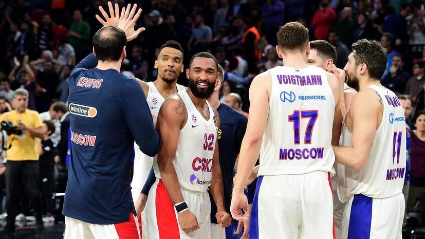 ЦСКА разгромил «Калев» в матче Единой лиги ВТБ