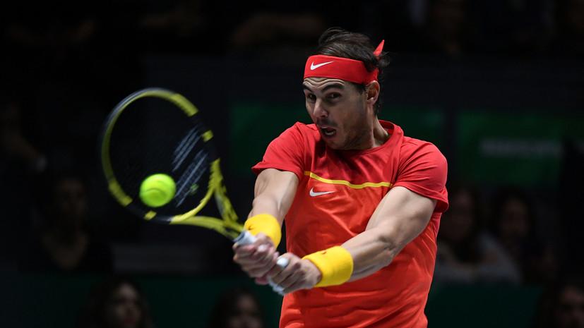 Надаль: победа на турнире в Абу-Даби важна, но нельзя сходить с ума