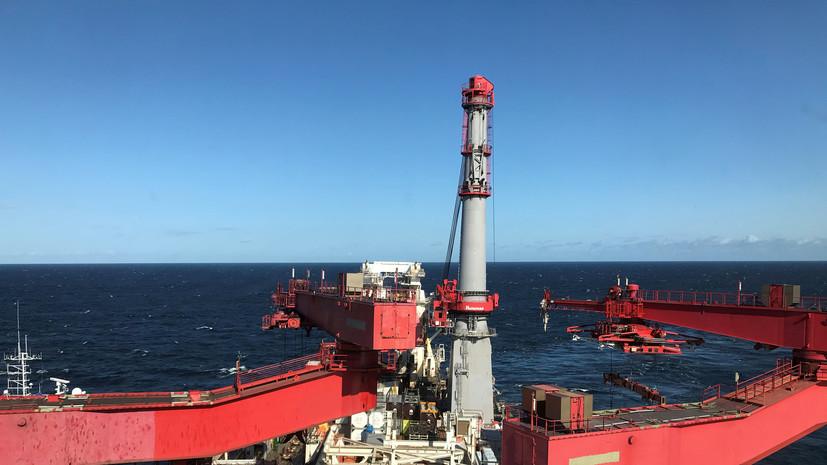 Строившая «Северный поток — 2» компания вывела суда из Балтики