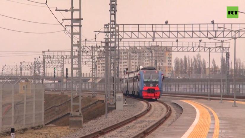 В Госдуме оценили важность запуска поездов по Крымскому мосту