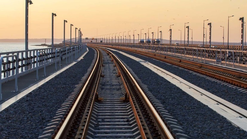 В Совфеде прокомментировали запуск поездов по Крымскому мосту