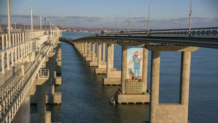 Аксёнов прокомментировал открытие ж/д части Крымского моста