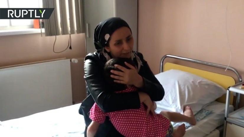 Избитую девочку из Ингушетии выпишут из больницы 25 декабря