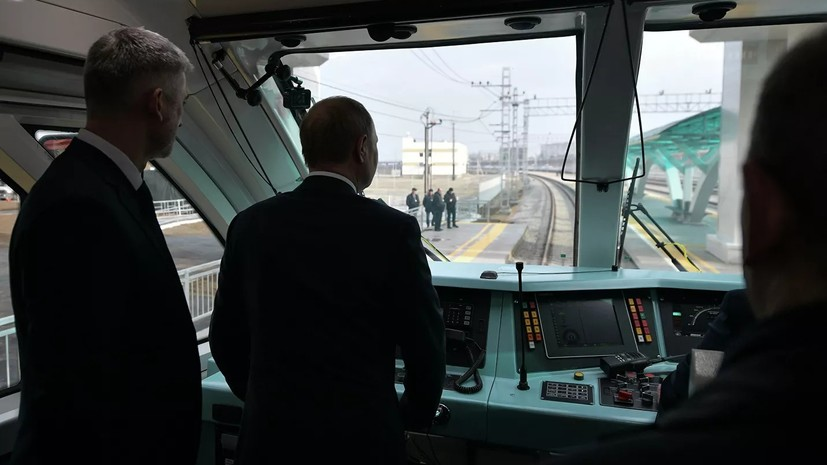 Эксперт прокомментировал открытие железнодорожной части Крымского моста