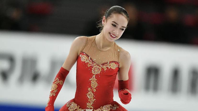 Загитова обошла Медведеву в списке самых популярных спортсменов России
