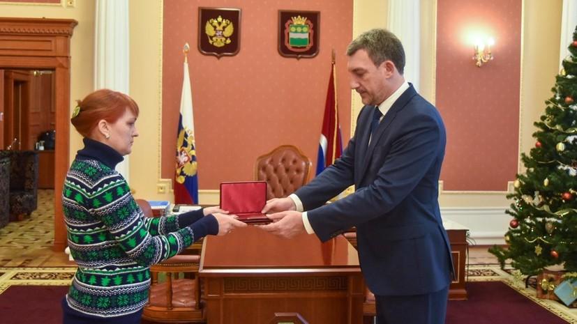 В Приамурье посмертно наградили студента за спасение двух утопавших