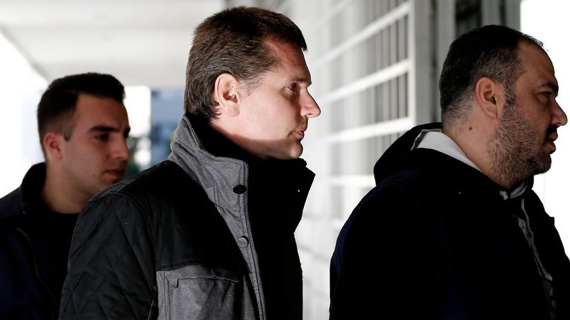 Суд Греции приостановил процесс экстрадиции Винника
