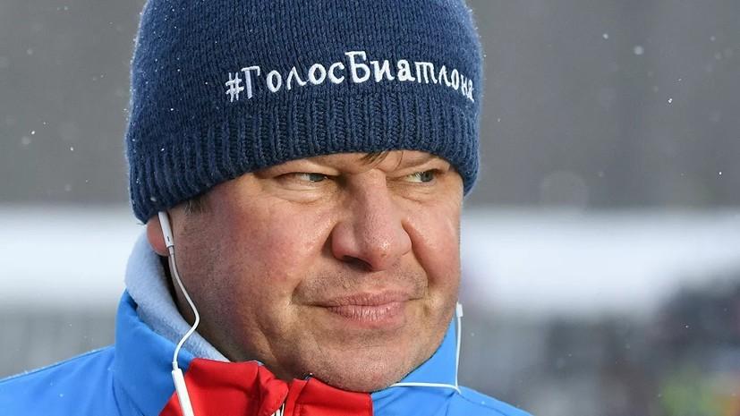 Губерниев отреагировал на критику экс-главы СБР Тихонова