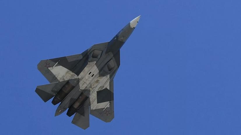 Источник рассказал о состоянии пилота разбившегося Су-57