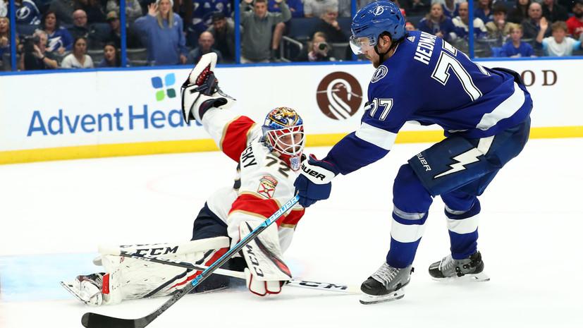 Бобровский объяснил разгромное поражение «Флориды» от «Тампы» в НХЛ