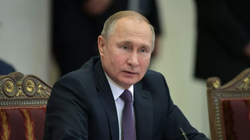 Путин назвал Россию единственным обладателем гиперзвукового оружия