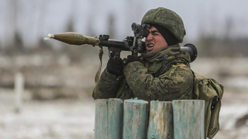 Гранатомётчики Балтфлота провели учения в Калининградской области