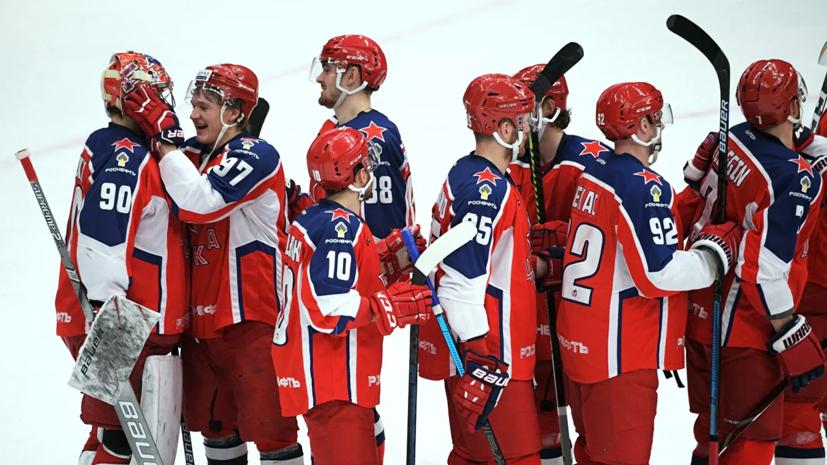 ЦСКА добыл шестую победу подряд в КХЛ, обыграв «Металлург»