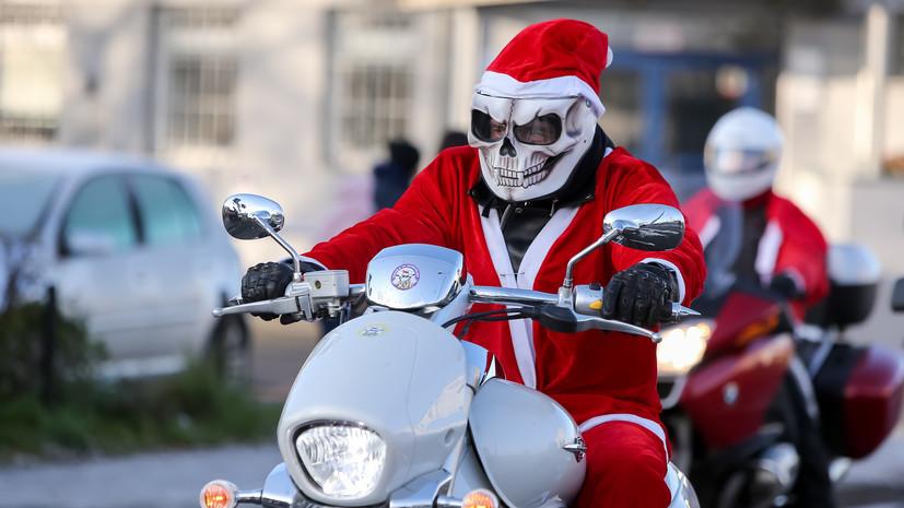 СМИ: В США грабитель банка разбросал деньги в честь Рождества