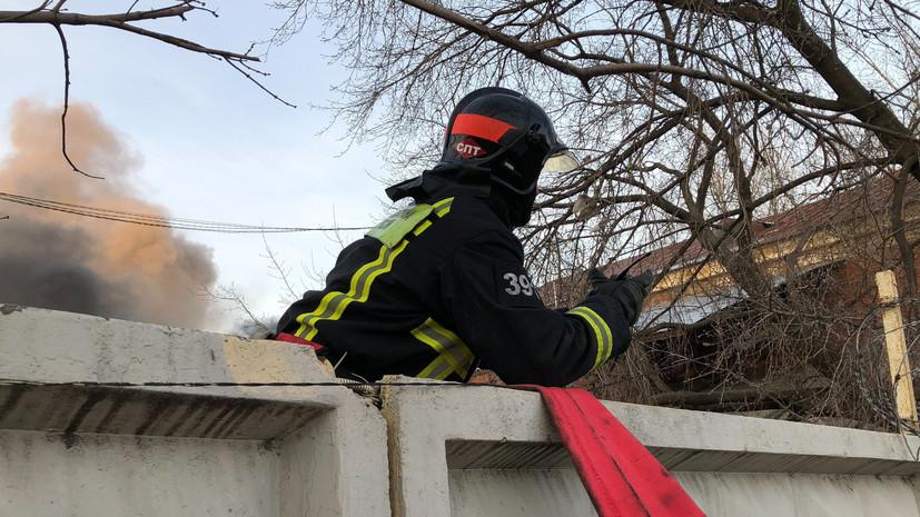 Найден второй погибший после пожара в общежитии в Иркутской области