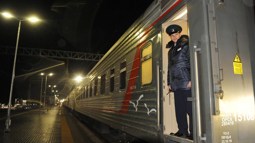 Первый поезд из Петербурга в Крым прибыл в Симферополь