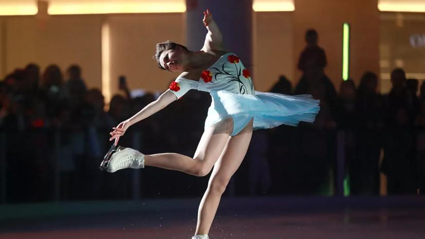Загитова примет участие в показательных выступлениях сборной России в марте