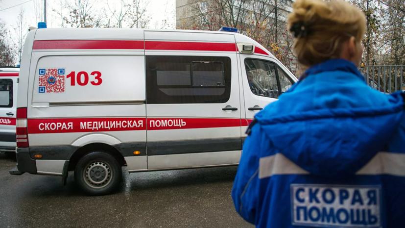Источник: при обрушении на складе в Москве пострадал один человек